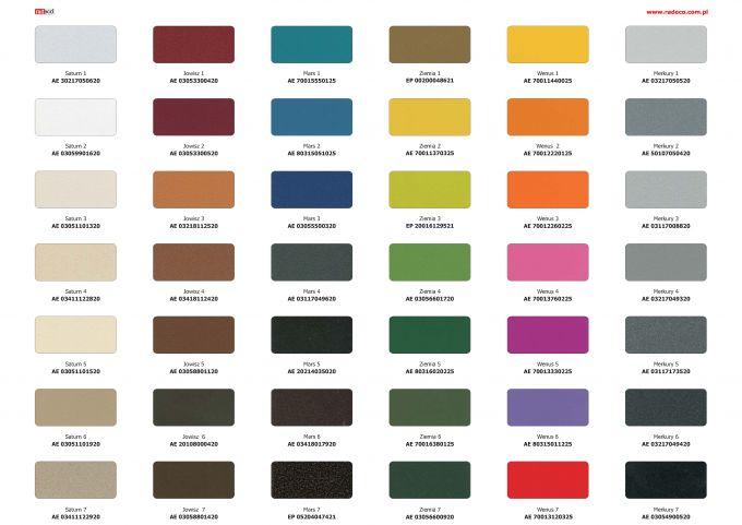 Paleta barw Radeco